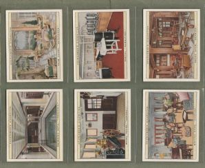 Collectable Tobacco cigarette cards Life on a Liner 1930